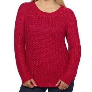 Calvin Klein Jeans persian red sweater Size Large
